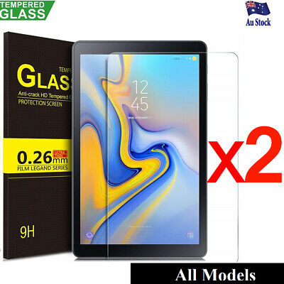 2X Tempered Glass Screen Protector Samsung Galaxy Tab A 10.5 8.0 10.1 S4 S5E S6