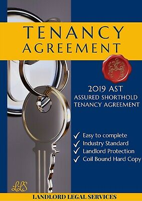 NEW 2018 AST Assured Shorthold Tenancy Agreement Landlord Rental Contract E-Copy