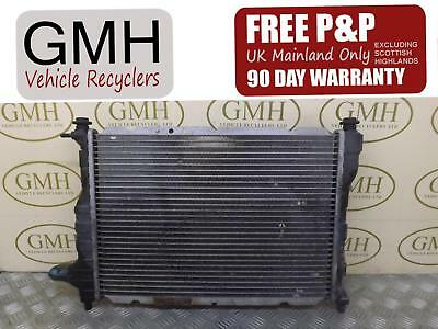 Chevrolet Matiz 1.0 Petrol Water Coolant Radiator With Ac 96591475 2005-2010©
