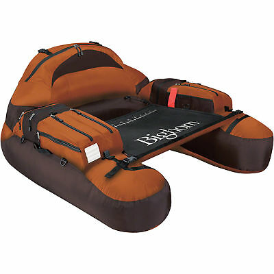 Classic Accessories Copper Bighorn Inflatable Water Fishing Float Tube Pontoon