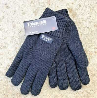 Ladies Womens Winter Warm Thermal Thinsulate Insulation Lined Gloves - 40 gram