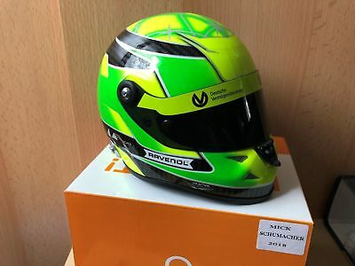 Mick Schumacher 1:2 Helm Helmet 2018 Schuberth F3 Champion **RAR**