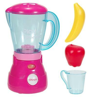 Play At Home Kitchen Blender Toy Kids Pretend Play Battery Operated Appliances