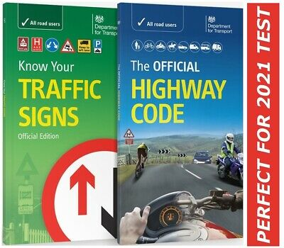 DVSA OFFICIAL HIGHWAY CODE & KNOW YOUR TRAFFIC SIGNS PAPERBACK 2019*hw+trfc