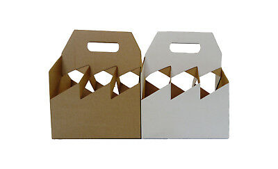 Wine , Ale, Beer, Cider, Bottle Carriers Brewery Shop Storage Cardboard Holders