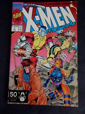X-Men #1 (Oct 1991 Marvel) Colossus/gambit Cover~~Jim Lee Art Work~~First Print