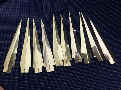 10 metamec Sun Burst clock Spares Or Repairs Rays