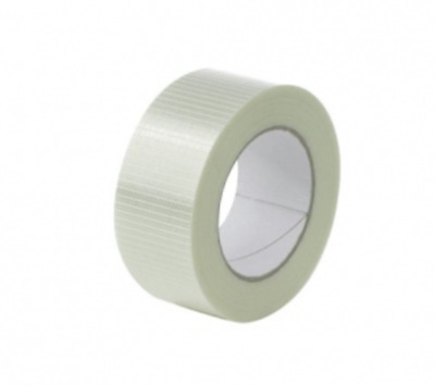 Extra Strong Packing Tape Cross weave Reinforced Glass Filament 25mm 50mm