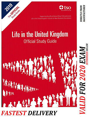 Life in the United Kingdom UK Official Practice Study guide 2018*std