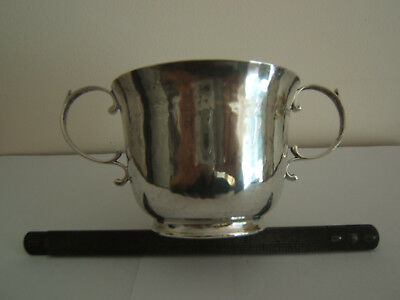 Antique Solid Silver Loving Cup Goldsmiths And Silversmiths Co Ltd London