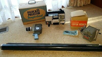 Fujica 8 Projector Plus Camera, Viewer & Screen