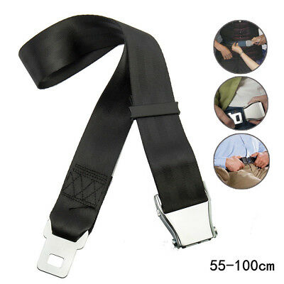 Adjustable Airplane Seat Belt Extender Extension Airline/Buckle Aircraft Ship