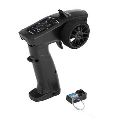 TURBO RACING 2.4G 3CH RC Transmitter Receiver Pistol-Grip For RC Boat & Car Kit