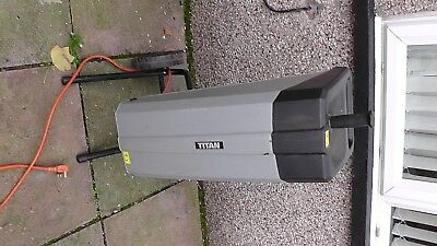 Titan Electric Garden Shredder. Excellent condition, includes ramming tool.
