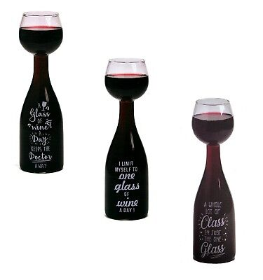 Wine Bottle Glass Large Novelty Drinking 75cl Giant Wine Glass Party Gift