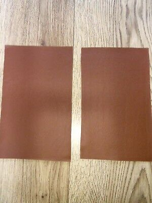 Brown Tan Leather Offcuts Craft Pieces Top Quality
