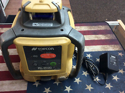 Topcon RL-H4C Self-leveling Rotary Laser w/charger