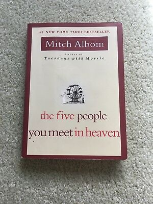 The Five People You Meet in Heaven by Mitch Albom (2003, Paperback)