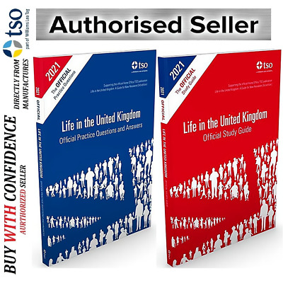 New Life in the United Kingdom UK 2019 3rd edition Citizenship Test Book *Std+QA