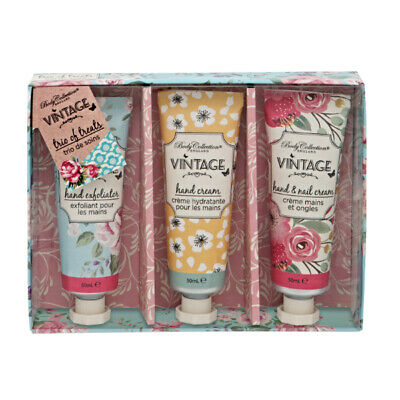 Body Collection Vintage Bouquet Trio Of Treats Gift Set **FREE P&P**