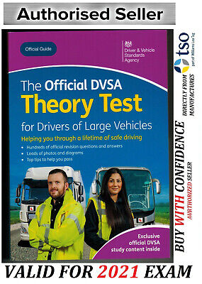 DVSA THEORY TEST Q&A for LGV and BUS DRIVERS LGV / PCV / HGV 2019 Tests*LGV BOOK