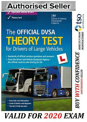 2019 DVSA Theory Test for Drivers of LGV / PCV / HGV Book. NEW EDITION*lgv bk