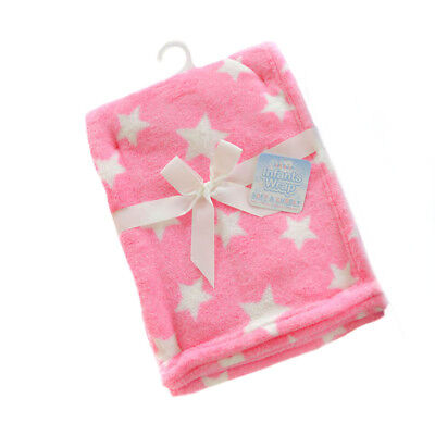 Supersoft Kuscheldecke Babydecke Wagendecke Fleece 75 x 100 cm