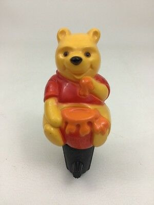 Winnie The Pooh Night Light w/ Honey Pot Vintage Walt Disney Production