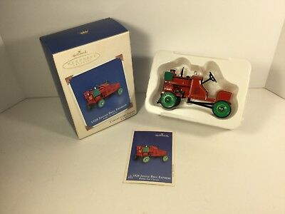 Hallmark Ornament 2002 1928 Jingle Bell Express Die-Cast Metal 9th in Series