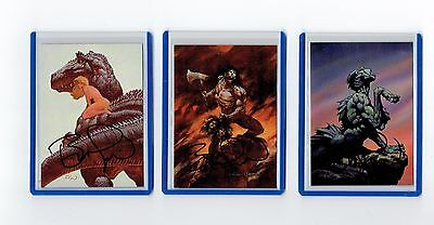 Bernie Wrightson Signed Horror Cards (L)