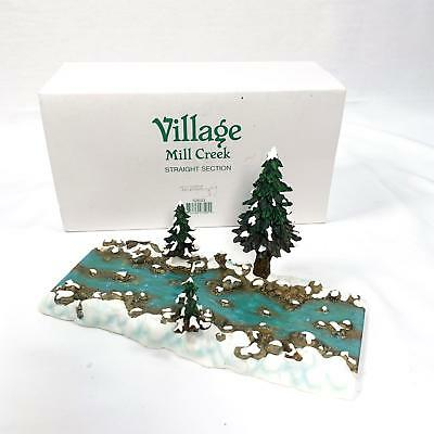 Village Mill Creek Straight Section Dept 56 - 52633 - Excellent Condition