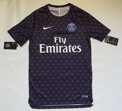 new arrival 6be09 bcca0 PARIS SAINT-GERMAIN PSG training jersey shirt NIKE 2018-2019 trikot adult  SIZE S