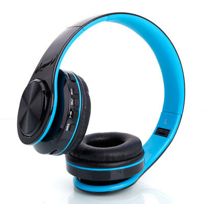 Stylish Fold Wireless Stereo Sport Bluetooth Headphones Ear-Cup (Over the Ear)