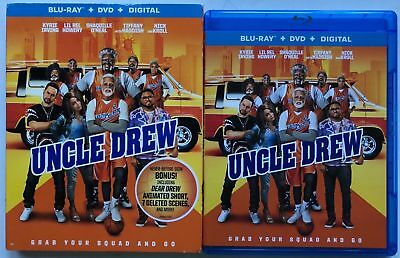 Uncle Drew Blu Ray Dvd 2 Disc Set + Slipcover Sleeve Free Worldwide Shipping