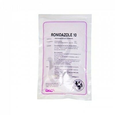 Pigeon Product - Ronidazole 10% - Canker - by DAC - Racing Pigeons