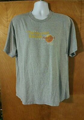 Mens Size XL Hard Rock Cafe Atlanta T-Shirt 50 Years of Rock Limited Edition