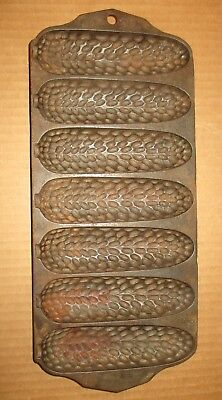 Antique Old Griswold Erie, Pa  Cast Iron Corn Or Wheat Stick Pan No 272