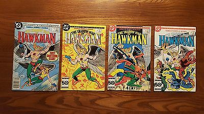 The Shadow War Of Hawkman #1-4 Complete Mini-Series Dc Comics Hawkgirl Jla