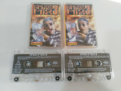 Bombazo Mix 3 Mixed By Mike Platinas Max Music - Doble 2 X Cinta Tape Cassette