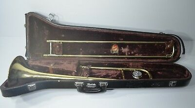 Conn Director Model Trombone With Hard Case And Two Mouthpieces