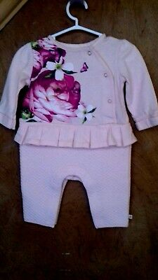 Baby & Toddler Clothing One-pieces Reasonable Ted Baker Baby Girl Sleepsuit 3-6 Months Floral Baby Grow Spring Bnwt Cheap Sales