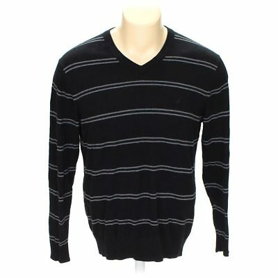 Nautica Men's Sweater, size XL,  black,  cotton, modal
