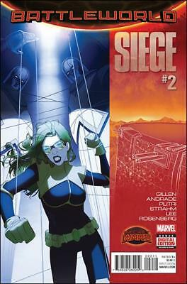 SIEGE #2 (1st print - Secret Wars - Battleworld - 2015)