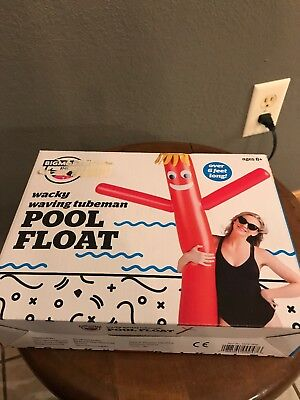 BigMouth Inc - Wacky Waving Tube Man - Inflatable Swimming Pool Float Noodle