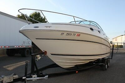 2000 Sea Ray 240 Sundancer Cruisers boat Clean Title LOW RESERVE