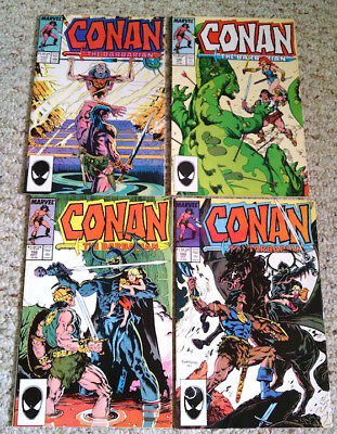 Conan The Barbarian #194, 196, 198, 199 - 4 Issue Lot