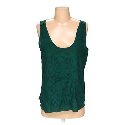 b26b8fdc4e2696 MAISON SCOTCH SLEEVELESS Top Tank Ruffle Zipper Bleached Design ...