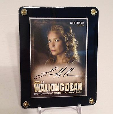 The Walking Dead Laurie Holden As Andrea Season 3 Autograph Card