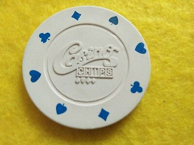 Nice looking Casino Chip in used condition, from the 80's.