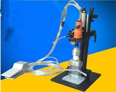 Pneumatic Cap Sealer Electric Bottle Capping Machine Sealing Machine New qz